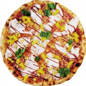 Пицца Куриная грудка BBQ, 25 см.